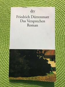 (hw) - Roman - Friedrich Dürrenmatt - Das Versprechen - guter Zustand