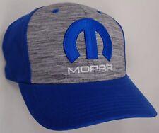Hat Cap Mopar M Logo Blue Black Grey Dodge Chrysler Plymouth Jeep CF