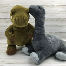 Kohl's Cares 'How Do Dinosaurs Say Goodnight' Brontosaurus & T- Rex Plush Set