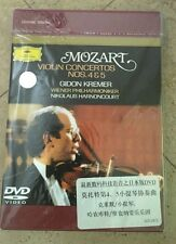Mozart Violín Concierto DVD 4&5 Gildon Kremer Nuevo Sellado Alemán?