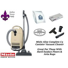 Miele Alize C3 Complete Canister Vacuum Cleaner - Great On Hard Floors