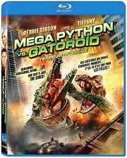 Mega Python vs. Gatoroid (Blu-ray)  Debbie Gibson, Tiffany A. Martinez  NEW