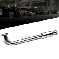 FOR HONDA CIVIC 01-05 EX STAINLESS HI-FLOW DOWNPIPE CAT PIPE EXHAUST SYSTEM