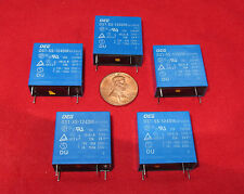 5 pcs OEG OST-SS-124DM 24VDC Coil Relay 4 Pin 10A 250VAC SPST  24V DC TV-5 TE AC
