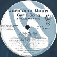 "JERMAINE DUPRI / DAZ / SLIM ""GAME GOING"" 2003 VINYL 12"" PROMO 4 MIXES *SEALED*"