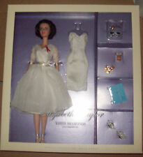 Elizabeth Taylor White Diamonds Silkstone Barbie NIB