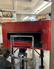 Kuma Forni Revolving Pizza Oven Deck Gas Wood Fired Pizza Rotating Inferno 140