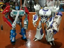 TRANSFORMERS PRIME RID ROBOTS IN DISGUISE VOYAGER CLASS OPTIMUS PRIME & MEGATRON