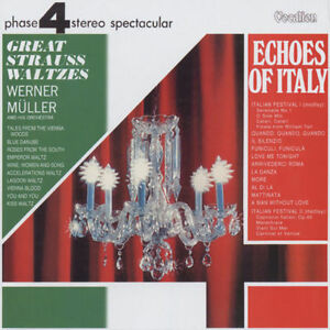 Werner Müller - Echoes Of Italy & Great Strauss Waltzes - CDLK4373