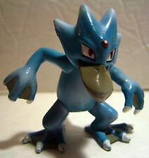 "Tomy Nintendo Pokemon Golduck Mini Figure 2"" Blue/Grey Vintage Cgtsj Figurine"