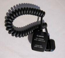 Canon OC-E3 Off-Camera Shoe Cord
