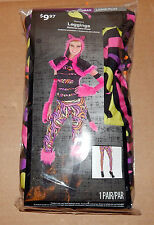 Halloween Costume Leggings Woman Large/Plus 1pair Pink Cat Pattern Walmart 72Y