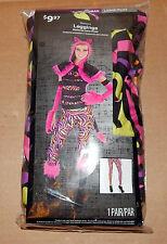 Halloween Costume Leggings Woman Large/Plus 1pair Pink Cat Pattern Walmart 72Y