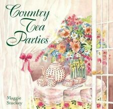 Country Tea Parties, Maggie Stuckey, Good Condition, Book