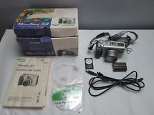 Canon Powershot G3 4mp Digital Camera with 7.2-28.8mm Lens - 14X Zoom flip view