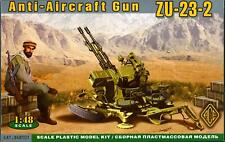 Ace Models 1/48 Soviet ZU-23-2 ANTI-AIRCRAFT GUN