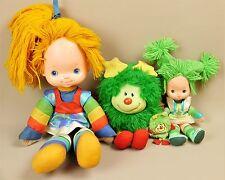 Vintage Rainbow Brite, Patty O' Green, Green Sprite & Small green sprite Doll