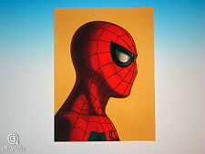 Spider-Man Mondo Mike Mitchell Portrait Print Marvel Comics Rare Giclee Proof
