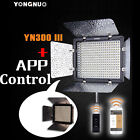 Yongnuo YN300 III LED Video Light Power Adapter 3200K-5500K for Camera Camcorder