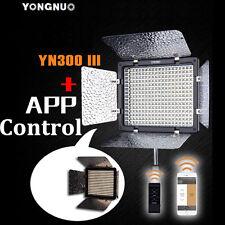Yongnuo YN300 III LED Video Light 3200K-5500K for Canon 1300D 1200D 750D 600D