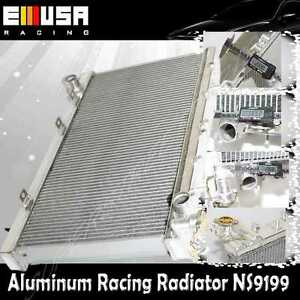 """2"""" 2 Raw Aluminum Performance Racing RADIATOR for 91-99 Nissan Sentra MT ONLY"""