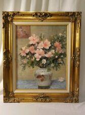 "Vintage Marcel Dyf Framed Print ''Bouquet Azalea'' Windsor Art Products 23""x27"""