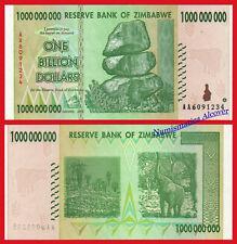 ZIMBABWE 1 BILLION dollars 1000000000 dolares 2008 Pick 83 SC / UNC