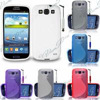 Housse etui coque pochette silicone gel pour Samsung Galaxy S3 Neo/Neo