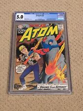 Showcase 35 CGC 5.0 OWW Pages (2nd SA app of Atom from 1962!!)