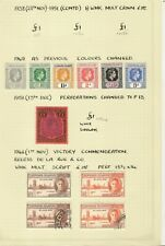 Leewards 1937-51 GVI Mint & Used Collection Cat£300+