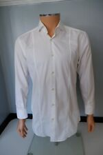Hugo Boss White Shirt Slim Fit  Size 39 Collar 15.5' Inches Mens P2P 21' Inches