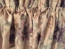 CROSCILL Chambord Cassis Blouson Valance Curtain 17 x 86  EUC Made In USA