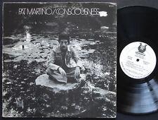 PAT MARTINO Consciousness LP MUSE RECORDS MR 5039 US 1974 PROMO Jazz Fusion
