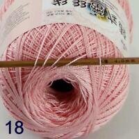 Thread No.8 Cotton Crochet Thread Yarn Craft Tatting Knit Embroidery 50g/400y 18