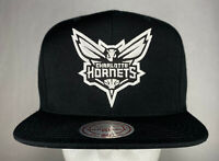 Mitchell and Ness NBA Charlotte Hornets Hi Crown Snapback Hat, Cap, New
