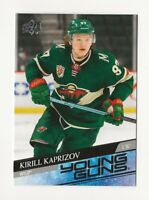 2020-21 Upper Deck Series 2 Base Young Guns #451 Kirill Kaprizov RC - Minn Wild