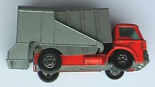 Lesney Matchbox Superfast No. 7 Refuse Truck - paint worn off in places.