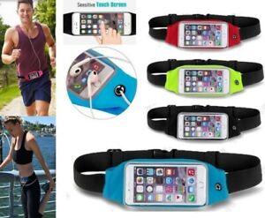 Sports Mobile Waist Phone Holder Bag Running Gym Waistband Exercise All Phones