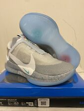 "Nike Adapt BB ""Air Mag"" Wolf Grey Shoes Size 9 DEADSTOCK UNWORN 100% Authentic"