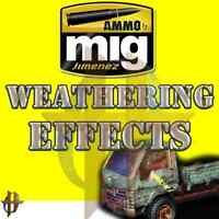 Ammo MIG Weathering Effects Enamel Stains, Panel Line Washes, Streaking FS $35+