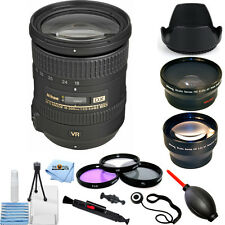 Nikon AF-S DX NIKKOR 18-200mm f/3.5-5.6G ED VR II - 3 Lens Bundle White Box