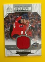 Alex Ovechkin - 2018-19 SP Game Used 2018 skills fabrics Wasington Capitals