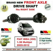 FOR FIAT IDEA 350 1.3D Multijet 2005-2012 BRAND NEW FRONT AXLE RIGHT DRIVESHAFT