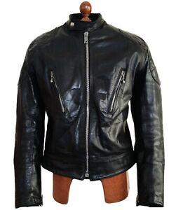 60s AVIAKIT LEWIS LEATHERS PHANTOM Motorcycle Biker Cafe Racer Jacket Coat UK 42