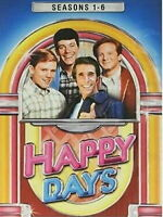 NEW! HAPPY DAYS: THE COMPLETE TV SERIES SEASONS 1-6. 22-DISC DVD SET
