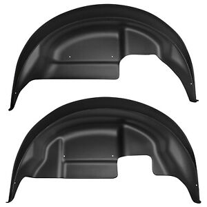Husky Liners 79151 Rear Wheel Well Guards for 2017 to 2019 Ford F150 Raptor