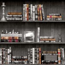 Bücherregale Tapete - Schwarz Holden 11951 - Bibliothek Bücher