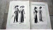 catalogue ancien la samaritaine paris été 1911 mode  femme homme enfant divers m