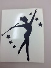 baton twirling sticker note nook..