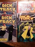 Gladstone Comics Dick Tracy vs The Underworld #1 #2 1991  Lot of 4 MINT
